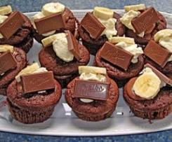 Bananen-Quark-Muffins