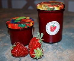 Erdbeer-Kokos Marmelade