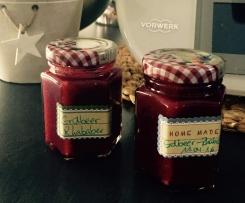 Erdbeer-Rhababer-Vanille Marmelade