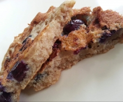 Variation von Vegane Blaubeer- Pancakes