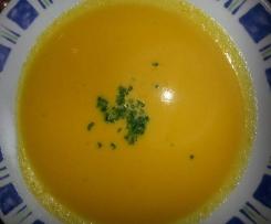 Karottencremesuppe - zum Reinlegen à la Thermiküche Maichingen