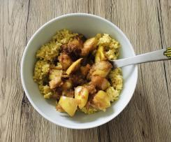Hirse-Apfel-Zimt Porridge