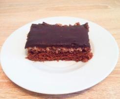 Omas Schoko-Kokos-Kuchen mit Grießbrei