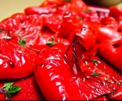 Frischkäse Dip mit eingelegter Paprika
