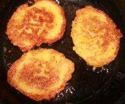 Zucchini-Puffer / Pfannkuchen