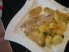 Pangasius Filet mit Petersilienkartoffeln in feiner Weißwein-Dill Soße