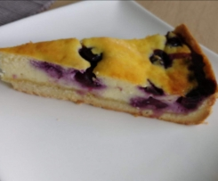 Heidelbeer-Quarkkuchen