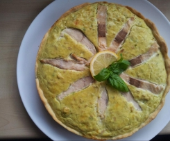 Wildlachs-Avocado-Quiche Vitamin-D-Bombe