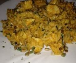 Chicken indisch mit Kokosnussmilch