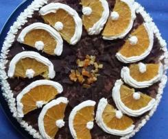 Orangen (Apfelsinen) - Grand Marnier Torte
