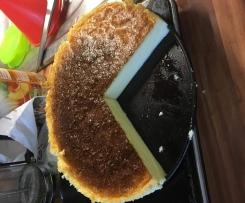 Käsekuchen mit drei Zutaten