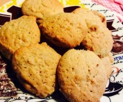 Walnuss-Ahornsirup Cookies