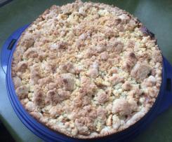 Apfel-Frischkäse-Streuselkuchen