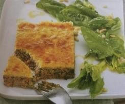 Hackfleisch-Gemüse-Kuchen