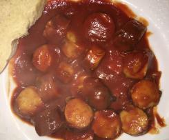 Currysauce für Currywurst