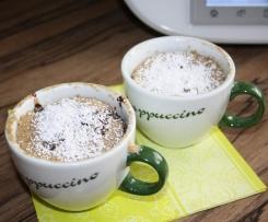 Früchte-Nuss-Tassenkuchen aus der Mikrowelle