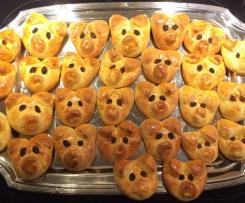 Glücksschweinchen / Osterhasen