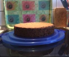 Nuss-Schokoladenkuchen zur Eiweißverwertung a la Nicky