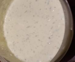 Frischkäse Knoblauch Dip