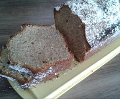 Zuccini-Nuß-Kuchen (Tassenkuchen)
