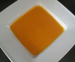 Variation von Kürbissuppe  (weltbeste)