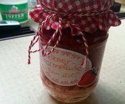 Einfach und lecker: Erdbeermarmelade
