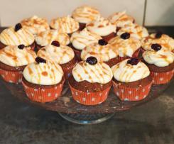Pumpkin Chai Latte Cupcakes