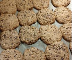 Variation American Cookies mit Schokostückchen