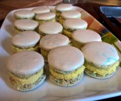 Macarons Füllung Vanille-Kokos