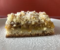 Streuselkuchen mit Mirabellen
