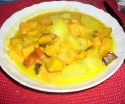 Süßkartoffel- Kürbis-Eintopf