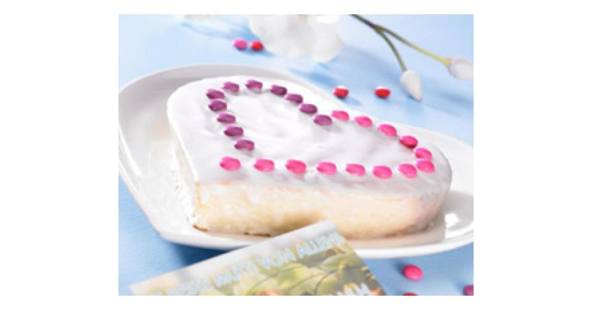 Zitronenkuchen Als Muttertagsherz Von Thermomix Rezeptentwicklung