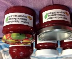 Nektarinen - Weintrauben - Johannisbeeren Marmelade