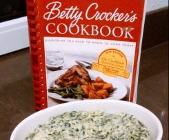 Betty Crocker's heißer Artischocken-Spinat-Dip