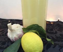 Knoblauch-Zitronen-Trunk