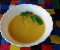 Kohlrabi-Karotten-Püree