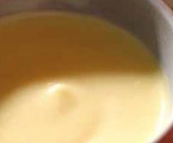 Apfelsaft Creme / Süssmost Creme