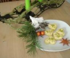 Orangen-Trüffel-Plätzchen