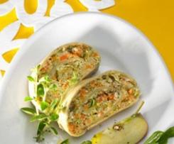 Gemüse-Kräuter-Strudel