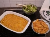 Fruchtiger Puten - Curry - Auflauf