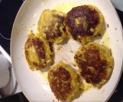 Kartoffel-Blumenkohl-Buletten
