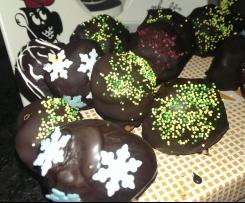 Cake Pops ohne backen, Resteverwertung von Lebkuchen, Keksen & co