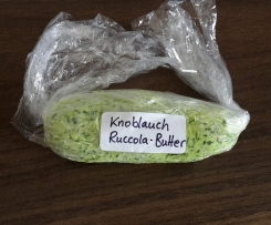 Knoblauch Rucola Butter