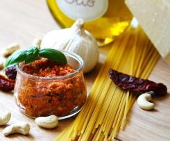 Tomaten-Pesto mit Cashewkernen
