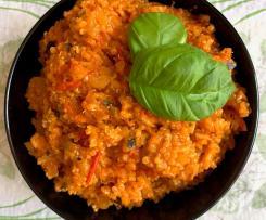 Zucchini-Quinoa-Reis