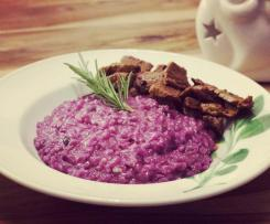 Rotkohl-Risotto
