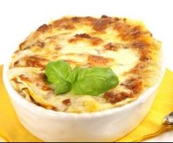 Variation von Karotten-Lasagne. So leicht. So lecker. Für Ziegenkäse-Fans!