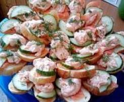Lachshappen - Der perfekte Snack für die Party