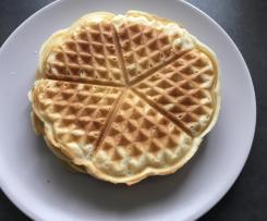 Waffeln / Herzwaffeln ohne Ei (vegan)