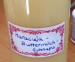 Maracuja-Buttermilch-Schnaps